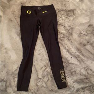 Nike Oregon Duck dri-fit leggings